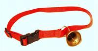 Halsband med bjällra