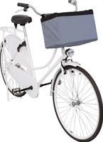 Cykelkorg tyg, ljusgrå